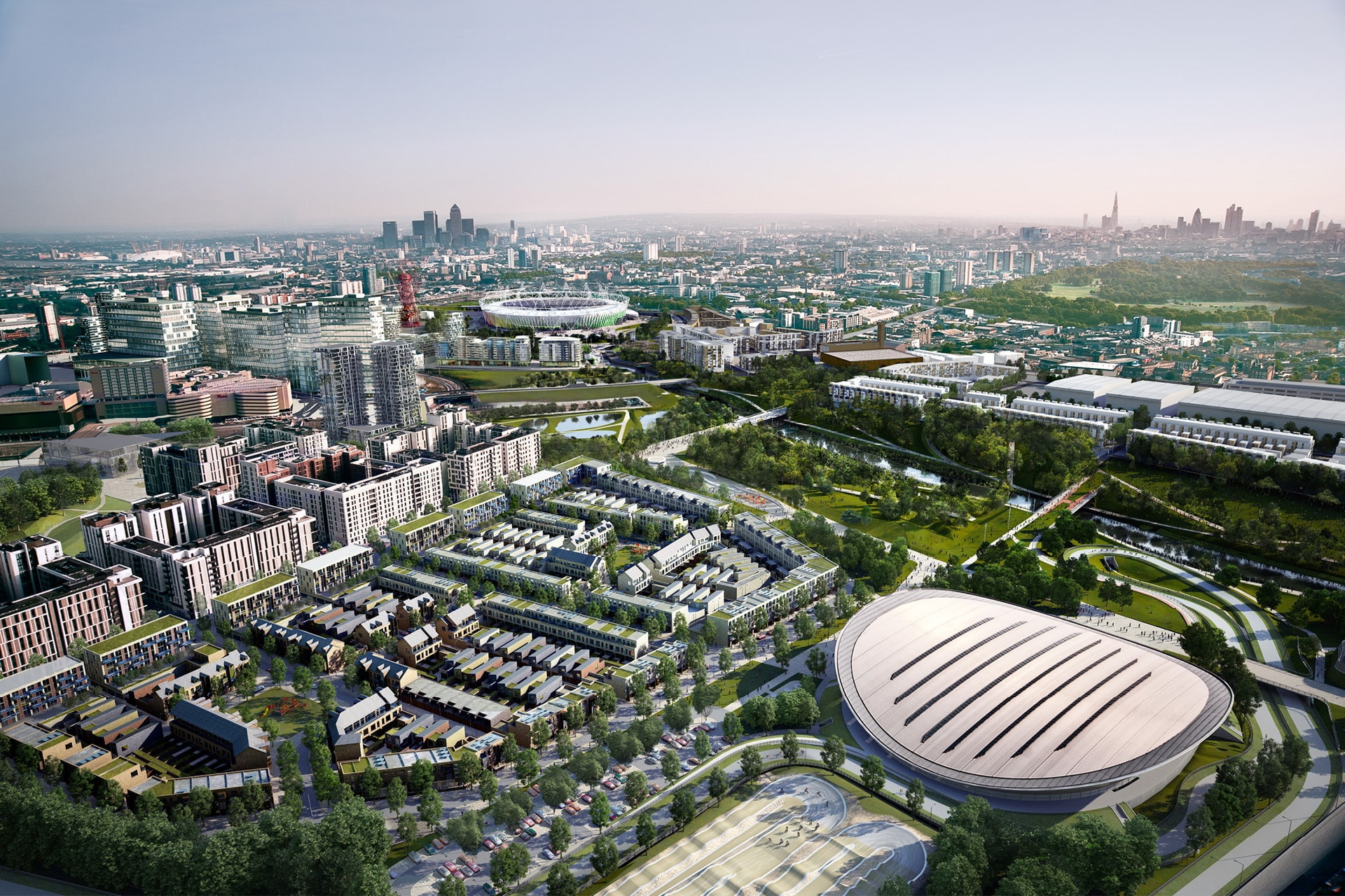 Olympic Legacy Masterplan Framework – London UK | MLA+