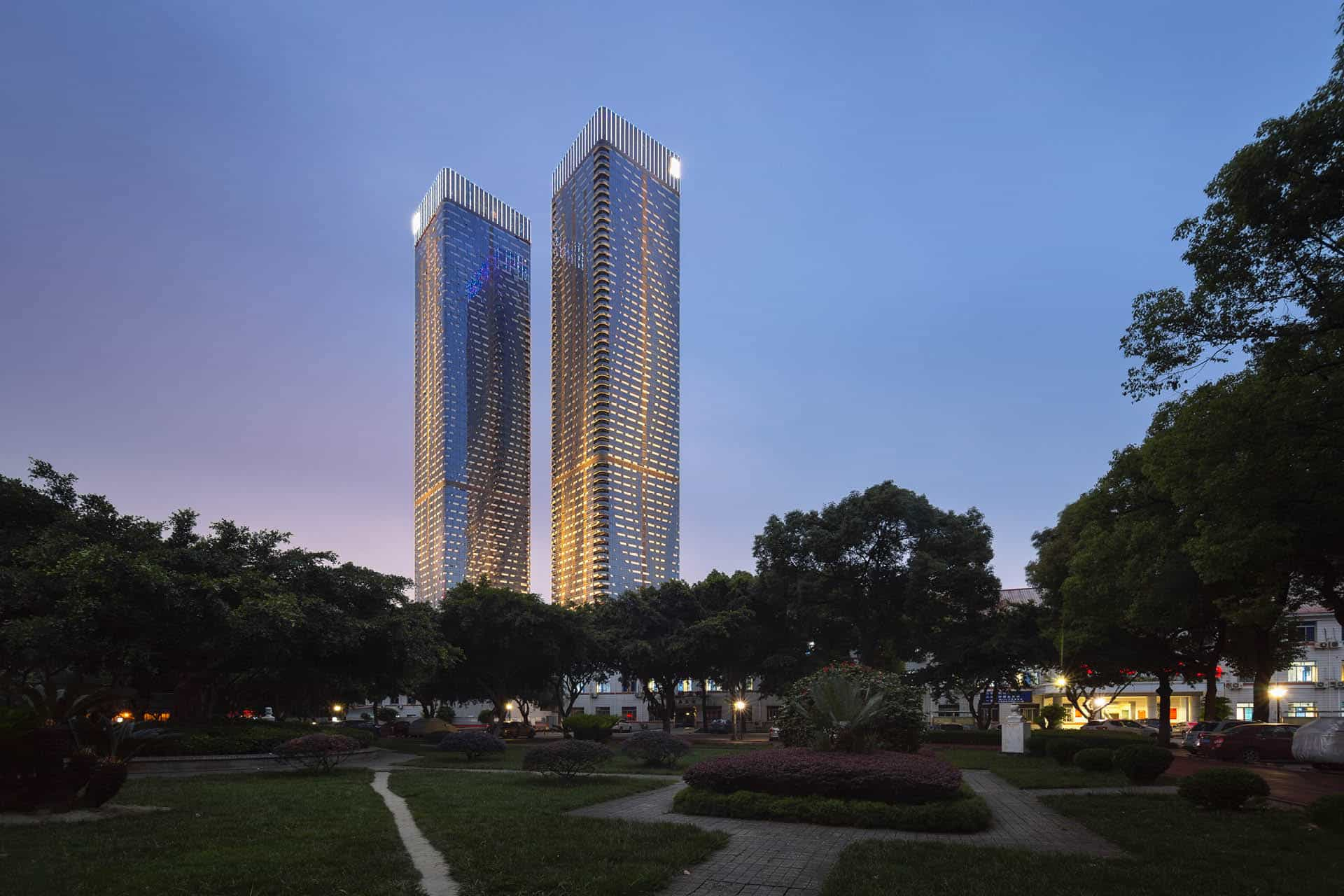 Tianxi Twin Towers – Chengdu CN | MLA+